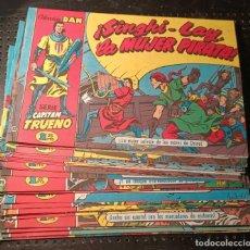Tebeos: LIBROS SERIE CAPITÁN TRUENO,COLECCIÓN DAN,LOTE DE 32 TEBEOS, 1959, MUY RARO. Lote 252062630