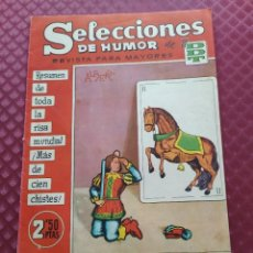BDs: SELECCIONES DE HUMOR DE EL DDT .Nº 100 BRUGUERA AÑO 1958. Lote 252065410