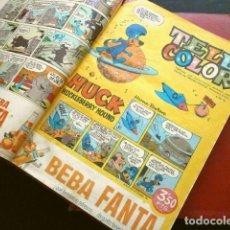 Tebeos: TELE COLOR ORIGINAL (AÑOS 60) 46 TEBEOS ENCUADERNADOS EN DOS TOMOS - DEL Nº 78 A 124 - BRUGUERA. Lote 252069225