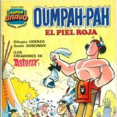 Tebeos: COLECCION SUPER BRAVO DE BRUGUERA OUMPAH-PAH COMPLETA 5 EJEMPLARES. Lote 252116965