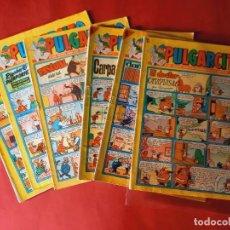 Tebeos: 6 PULGARCITO -Nº : 1363-1516-1538-1662-1787-1834- EN BUEN ESTADO. Lote 252127455