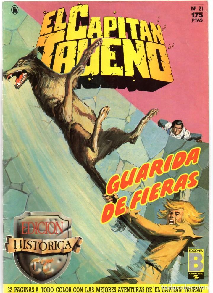 Nº 21 EL CAPITAN TRUENO. EDICIÓN HISTORICA. EDICIONES B. 1987 (Tebeos y Comics - Bruguera - Capitán Trueno)