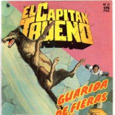 Tebeos: Nº 21 EL CAPITAN TRUENO. EDICIÓN HISTORICA. EDICIONES B. 1987. Lote 252177370