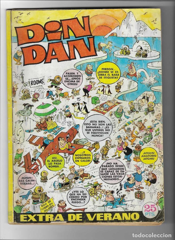 DIN DAN -- EXTRA DE VERANO 1972 (Tebeos y Comics - Bruguera - Din Dan)