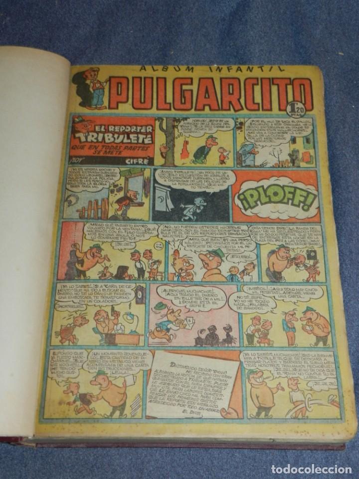 (M9) PULGARCITO DEL NÚMERO 222 AL N. 264 + ALMANAUQE 1952, TOTAL 44 NUMEROS (Tebeos y Comics - Bruguera - Pulgarcito)