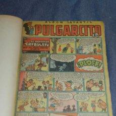 Tebeos: (M9) PULGARCITO DEL NÚMERO 222 AL N. 264 + ALMANAUQE 1952, TOTAL 44 NUMEROS. Lote 252333840