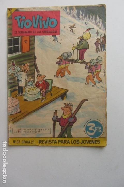 TIO VIVO - Nº 97, ÉPOCA 2ª - ED. BRUGUERA MUCHOS EN VENTA MIRA FALTAS ARX82 (Tebeos y Comics - Bruguera - Tio Vivo)