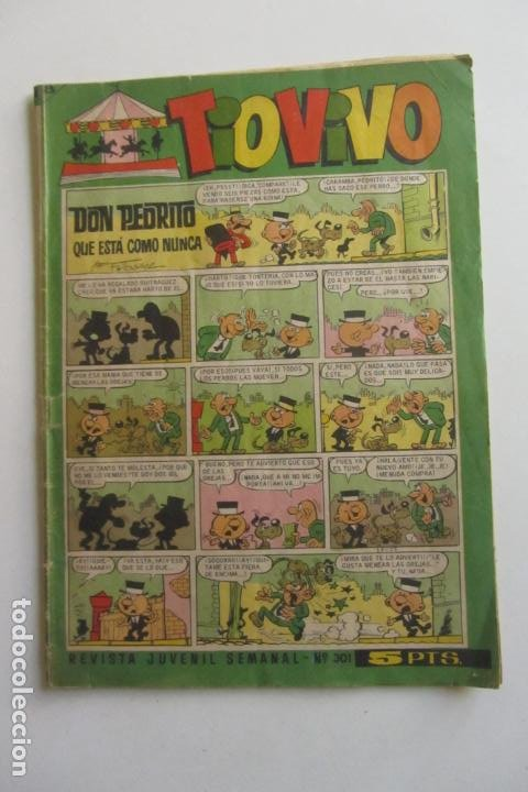 TIO VIVO - Nº 301 ÉPOCA 2ª - ED. BRUGUERA MUCHOS EN VENTA MIRA FALTAS ARX82 (Tebeos y Comics - Bruguera - Tio Vivo)