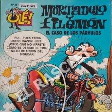 Tebeos: MORTADELO Y FILEMON -EL CASO DE LOS PÁRVULOS -Nº 38 - COLECIÓN OLE. Lote 252432825