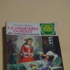 Tebeos: 1 EDICION JOYAS LITERARIAS JUVENILES NUMERO 115, EDITORIAL BRUGUERA, LA PEQUEÑA DORRIT. Lote 252435575