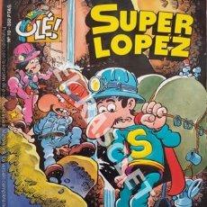 Tebeos: SUPER LOPEZ- AL CENTRO DE LA TIERRA - NUMERO 10 - EDICIONES OLÉ. Lote 252437245