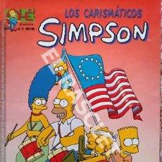 Tebeos: LOS CARISMATICOS SIMPSON - NUMERO 17 - EDICIONES OLE. Lote 252437595