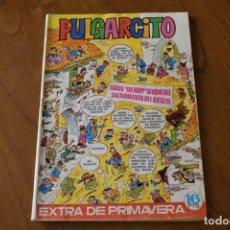 Tebeos: PULGARCITO EXTRA DE PRIMAVERA 1972 CON CAPITÁN TRUENO Y SHERIFF KING. Lote 252448610