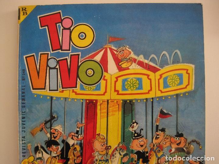 Tebeos: TIO VIVO--LOTE 11 ALMANAQUES 1966 1967 1968 1969 1971 1972 1973 1974 1975 1976 1977 --BRUGUERA - Foto 4 - 252583275