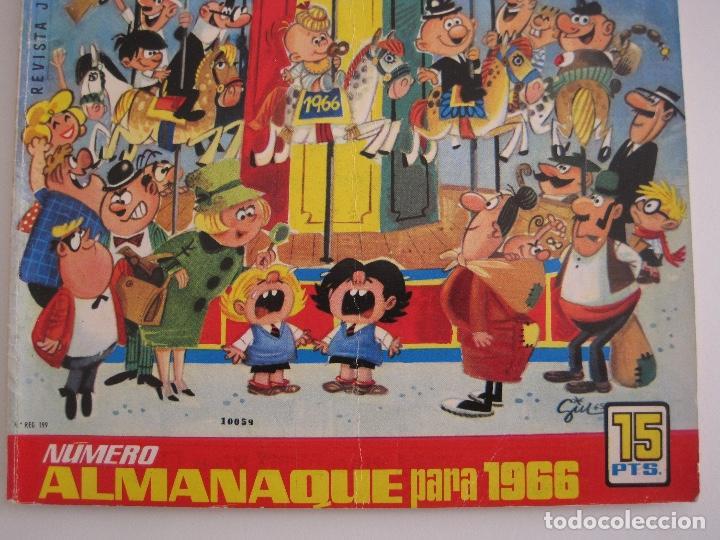Tebeos: TIO VIVO--LOTE 11 ALMANAQUES 1966 1967 1968 1969 1971 1972 1973 1974 1975 1976 1977 --BRUGUERA - Foto 5 - 252583275