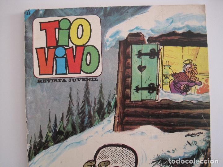 Tebeos: TIO VIVO--LOTE 11 ALMANAQUES 1966 1967 1968 1969 1971 1972 1973 1974 1975 1976 1977 --BRUGUERA - Foto 7 - 252583275