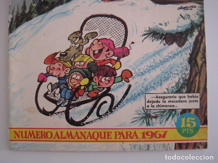 Tebeos: TIO VIVO--LOTE 11 ALMANAQUES 1966 1967 1968 1969 1971 1972 1973 1974 1975 1976 1977 --BRUGUERA - Foto 8 - 252583275
