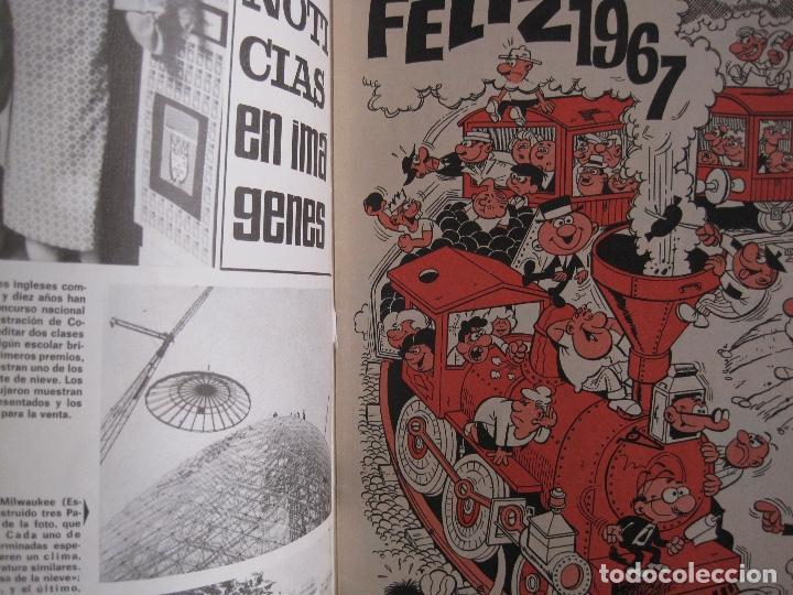 Tebeos: TIO VIVO--LOTE 11 ALMANAQUES 1966 1967 1968 1969 1971 1972 1973 1974 1975 1976 1977 --BRUGUERA - Foto 10 - 252583275