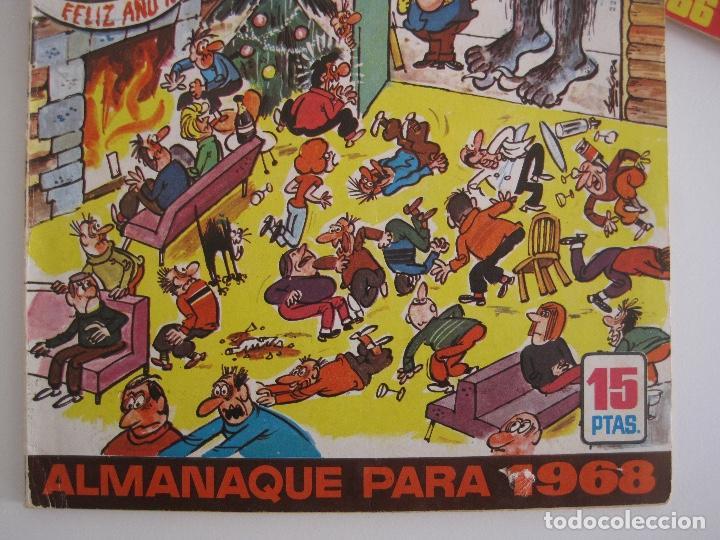 Tebeos: TIO VIVO--LOTE 11 ALMANAQUES 1966 1967 1968 1969 1971 1972 1973 1974 1975 1976 1977 --BRUGUERA - Foto 12 - 252583275