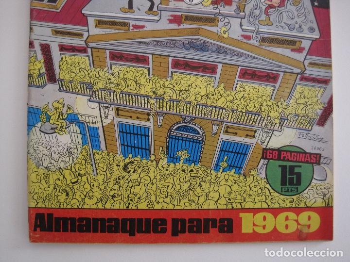 Tebeos: TIO VIVO--LOTE 11 ALMANAQUES 1966 1967 1968 1969 1971 1972 1973 1974 1975 1976 1977 --BRUGUERA - Foto 16 - 252583275
