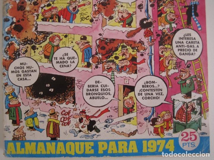Tebeos: TIO VIVO--LOTE 11 ALMANAQUES 1966 1967 1968 1969 1971 1972 1973 1974 1975 1976 1977 --BRUGUERA - Foto 29 - 252583275