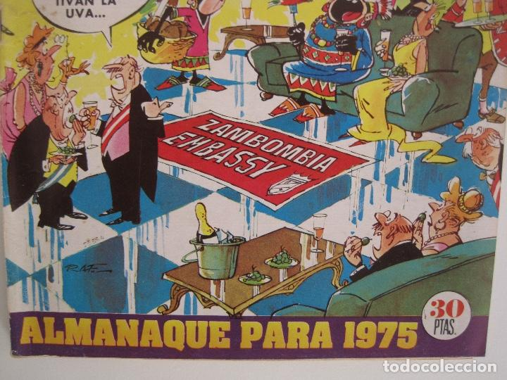 Tebeos: TIO VIVO--LOTE 11 ALMANAQUES 1966 1967 1968 1969 1971 1972 1973 1974 1975 1976 1977 --BRUGUERA - Foto 33 - 252583275