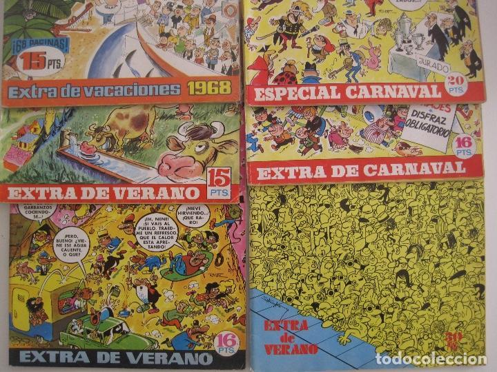 TIO VIVO--LOTE DE 37 EXTRA VACACIONES NAVIDAD PRIMAVERA CARNAVAL VERANO FUTBOL BRUGUERA (Tebeos y Comics - Bruguera - Tio Vivo)