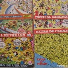 Tebeos: TIO VIVO--LOTE DE 37 EXTRA VACACIONES NAVIDAD PRIMAVERA CARNAVAL VERANO FUTBOL BRUGUERA. Lote 252601720
