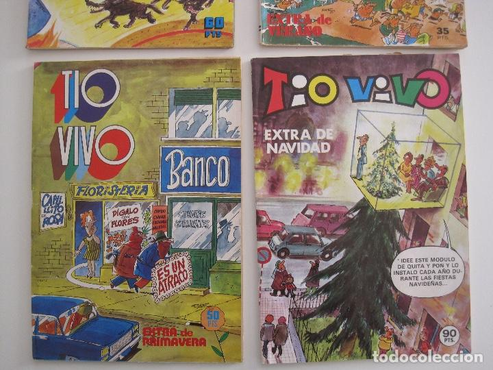 Tebeos: TIO VIVO--LOTE DE 37 EXTRA VACACIONES NAVIDAD PRIMAVERA CARNAVAL VERANO FUTBOL BRUGUERA - Foto 3 - 252601720