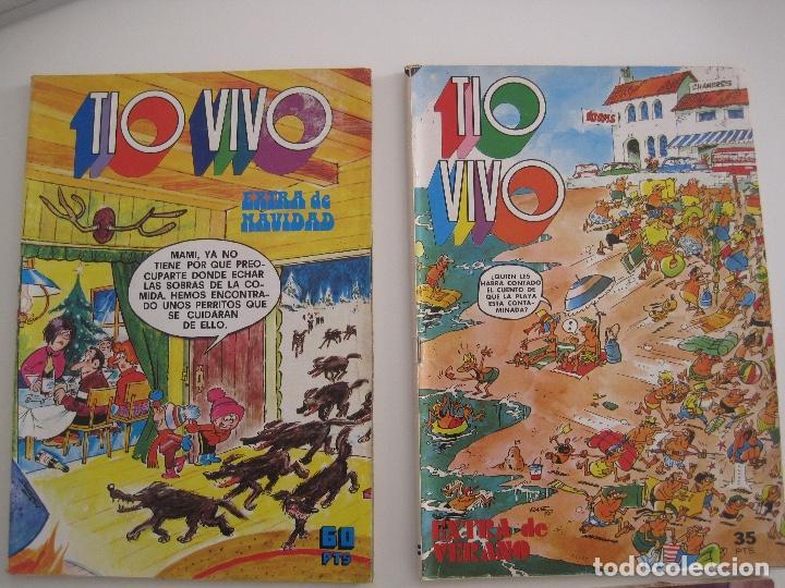 Tebeos: TIO VIVO--LOTE DE 37 EXTRA VACACIONES NAVIDAD PRIMAVERA CARNAVAL VERANO FUTBOL BRUGUERA - Foto 4 - 252601720