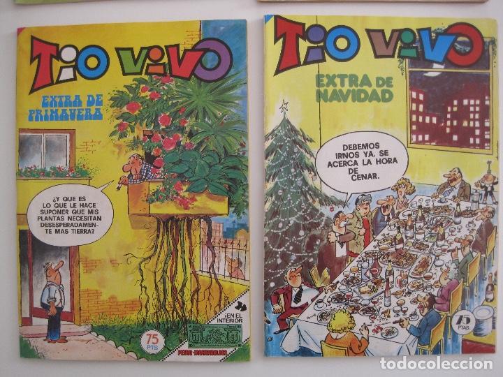 Tebeos: TIO VIVO--LOTE DE 37 EXTRA VACACIONES NAVIDAD PRIMAVERA CARNAVAL VERANO FUTBOL BRUGUERA - Foto 6 - 252601720