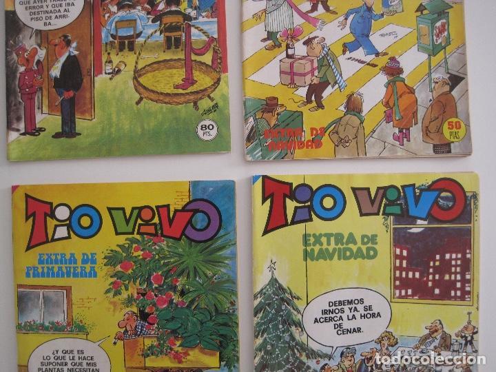 Tebeos: TIO VIVO--LOTE DE 37 EXTRA VACACIONES NAVIDAD PRIMAVERA CARNAVAL VERANO FUTBOL BRUGUERA - Foto 8 - 252601720
