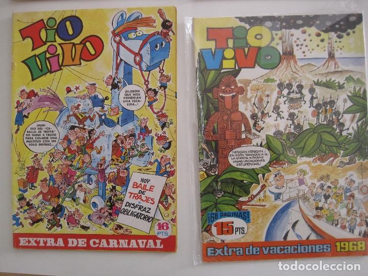 Tebeos: TIO VIVO--LOTE DE 37 EXTRA VACACIONES NAVIDAD PRIMAVERA CARNAVAL VERANO FUTBOL BRUGUERA - Foto 14 - 252601720