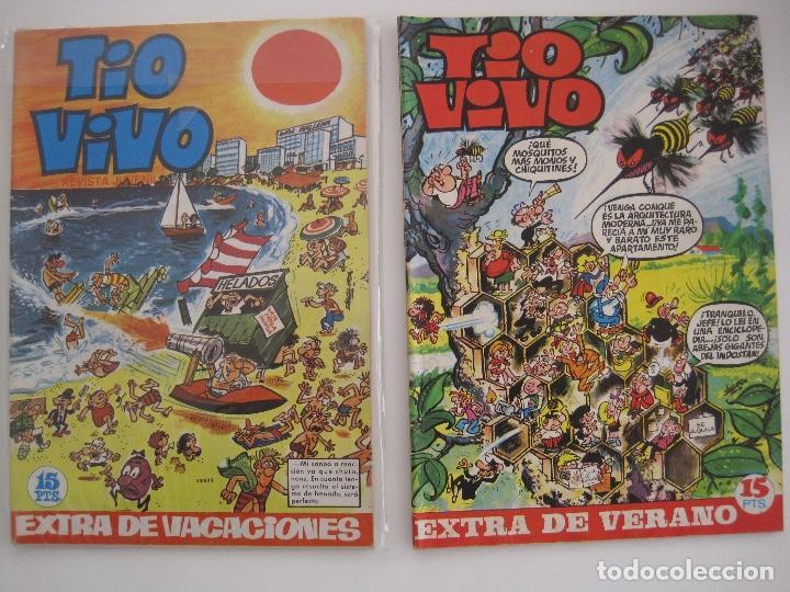 Tebeos: TIO VIVO--LOTE DE 37 EXTRA VACACIONES NAVIDAD PRIMAVERA CARNAVAL VERANO FUTBOL BRUGUERA - Foto 20 - 252601720