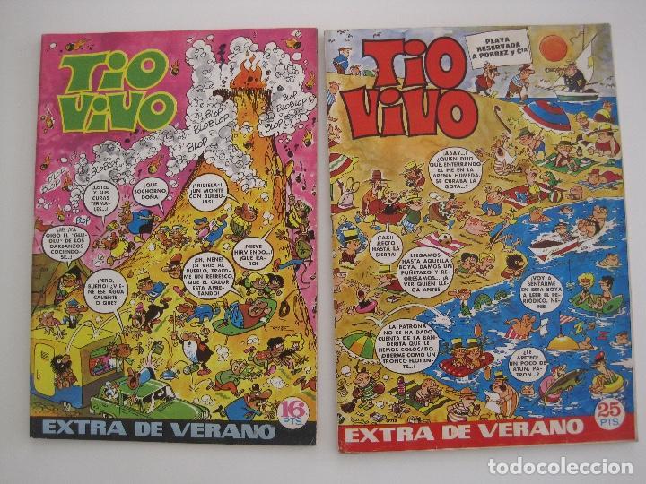 Tebeos: TIO VIVO--LOTE DE 37 EXTRA VACACIONES NAVIDAD PRIMAVERA CARNAVAL VERANO FUTBOL BRUGUERA - Foto 21 - 252601720