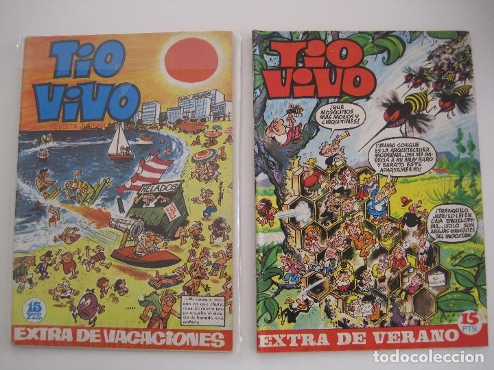 Tebeos: TIO VIVO--LOTE DE 37 EXTRA VACACIONES NAVIDAD PRIMAVERA CARNAVAL VERANO FUTBOL BRUGUERA - Foto 23 - 252601720