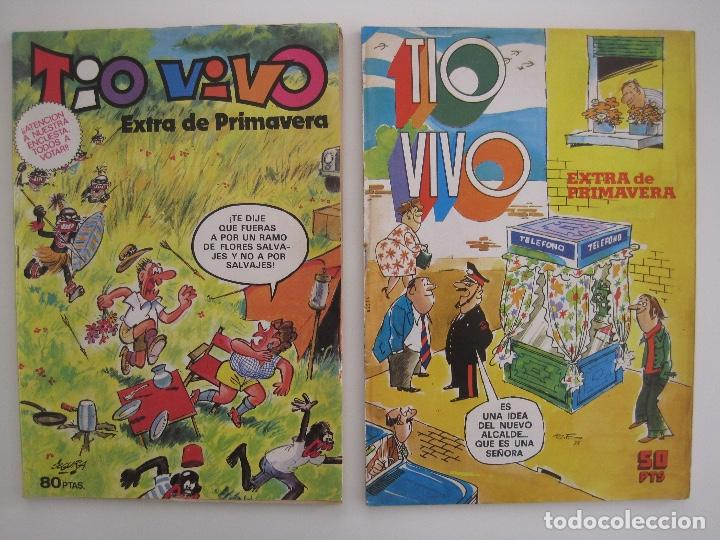 Tebeos: TIO VIVO--LOTE DE 37 EXTRA VACACIONES NAVIDAD PRIMAVERA CARNAVAL VERANO FUTBOL BRUGUERA - Foto 32 - 252601720