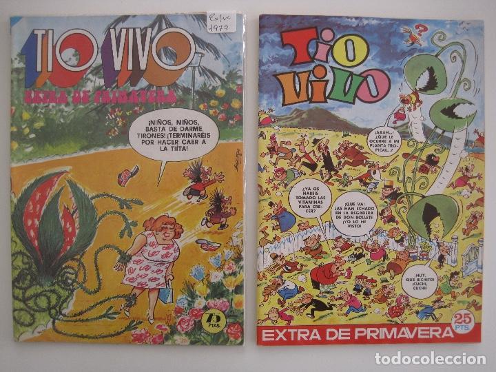 Tebeos: TIO VIVO--LOTE DE 37 EXTRA VACACIONES NAVIDAD PRIMAVERA CARNAVAL VERANO FUTBOL BRUGUERA - Foto 38 - 252601720
