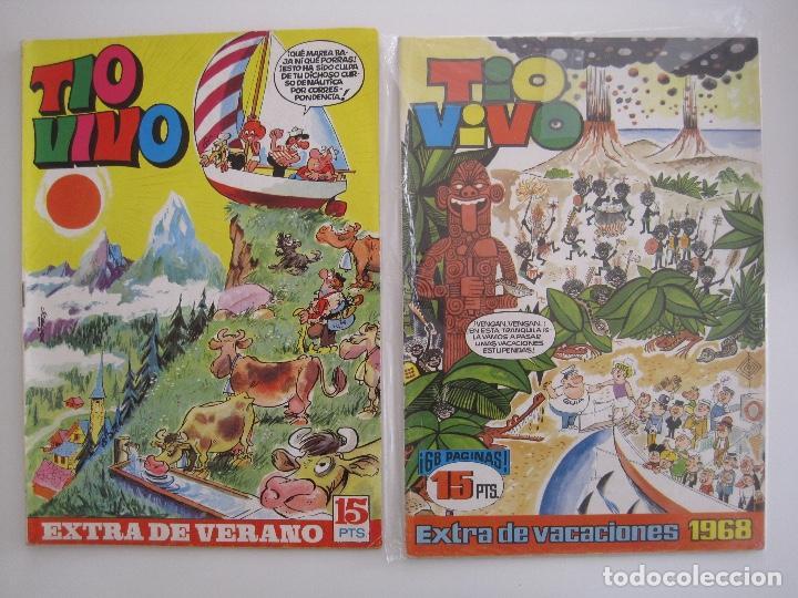 Tebeos: TIO VIVO--LOTE DE 37 EXTRA VACACIONES NAVIDAD PRIMAVERA CARNAVAL VERANO FUTBOL BRUGUERA - Foto 47 - 252601720