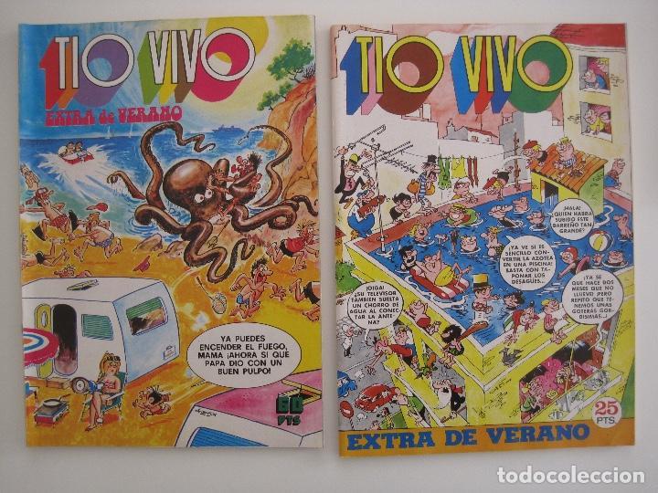 Tebeos: TIO VIVO--LOTE DE 37 EXTRA VACACIONES NAVIDAD PRIMAVERA CARNAVAL VERANO FUTBOL BRUGUERA - Foto 50 - 252601720