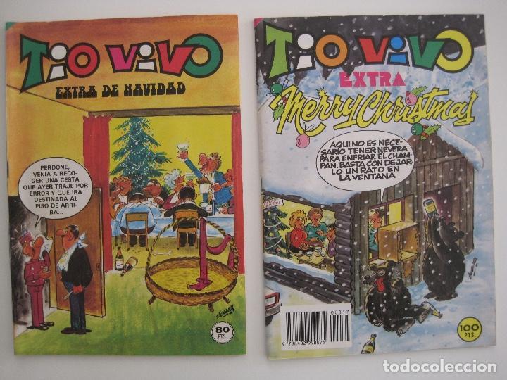 Tebeos: TIO VIVO--LOTE DE 37 EXTRA VACACIONES NAVIDAD PRIMAVERA CARNAVAL VERANO FUTBOL BRUGUERA - Foto 65 - 252601720