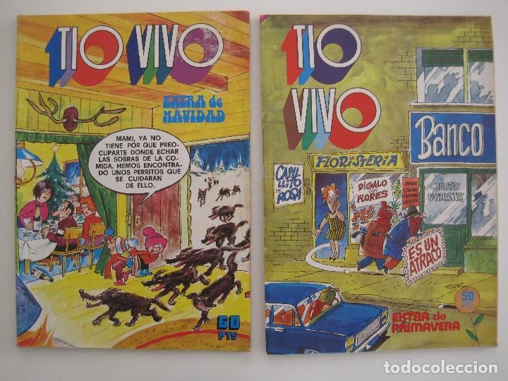 Tebeos: TIO VIVO--LOTE DE 37 EXTRA VACACIONES NAVIDAD PRIMAVERA CARNAVAL VERANO FUTBOL BRUGUERA - Foto 74 - 252601720