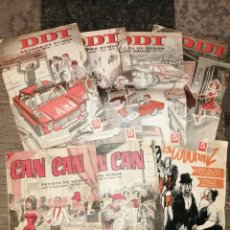 Tebeos: LOTE CÓMIC BRUGUERA DDT CAN CAN. Lote 252831575