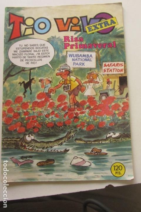 TIO VIVO - EXTRA RISA PRIMAVERAL - EXTRA Nº 54 - BRUGUERA 1984 ARX87 (Tebeos y Comics - Bruguera - Tio Vivo)