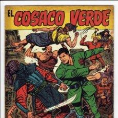 Tebeos: EL COSACO VERDE - ALMANAQUE PARA 1961 (ORIGINAL) BRUGUERA ''MUY BUEN ESTADO''. Lote 252841095