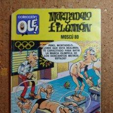 Tebeos: COMIC DE OLE MORTADELO Y FILEMON EN MOSCU 80 DEL AÑO 1989 Nº M.261. Lote 252982770