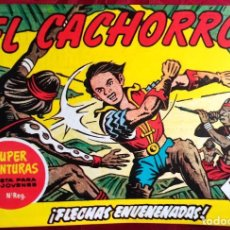Tebeos: EL CACHORRO - ORIGINAL DEL AÑO 1983 - NÚM. 160 - FLECHAS ENVENENADAS - BUEN ESTADO. Lote 253062530