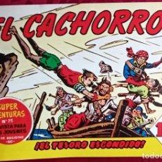 Tebeos: EL CACHORRO - ORIGINAL DEL AÑO 1983 - EL TESORO ESCONDIDO - BUEN ESTADO. Lote 253062785