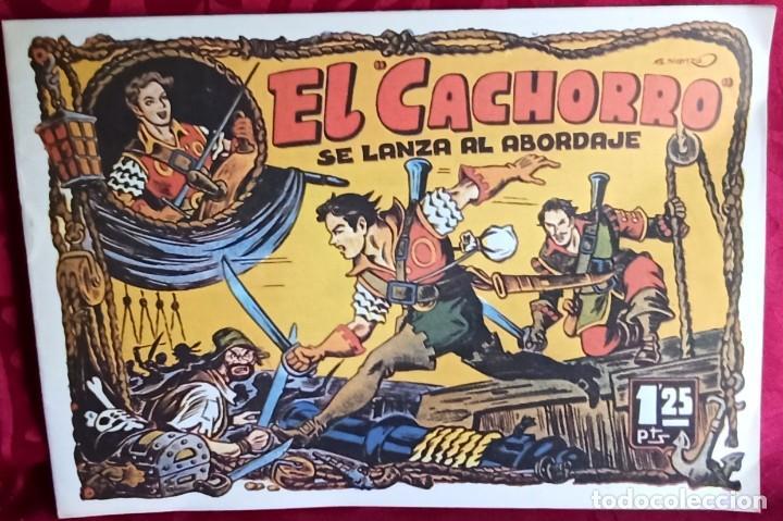 EL CACHORRO - ORIGINAL DEL AÑO 1982 - EL CACHORRO SE LANZA AL ABORDAJE - BUEN ESTADO (Tebeos y Comics - Bruguera - El Cachorro)
