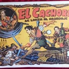 Tebeos: EL CACHORRO - ORIGINAL DEL AÑO 1982 - EL CACHORRO SE LANZA AL ABORDAJE - BUEN ESTADO. Lote 253062855